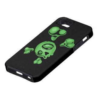 Green Skull iPhone 5 Cases
