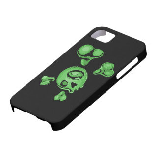 Green Skull iPhone SE/5/5s Case