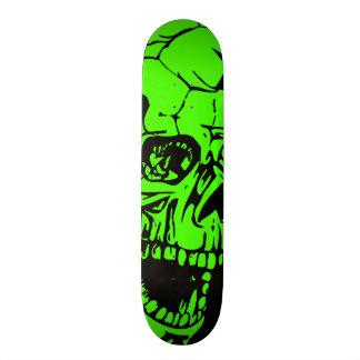 Green Skull Skateboard Decks