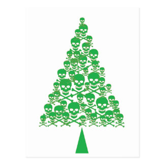 Triangle Christmas Tree Cards | Zazzle