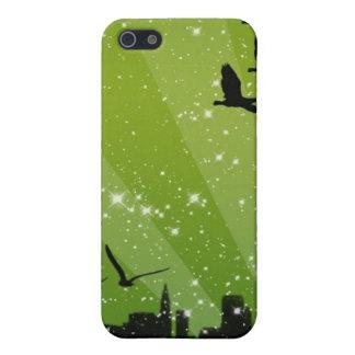 Green Sky Birds iPhone SE/5/5s Case