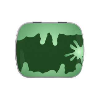 Green Slime Candy Tins