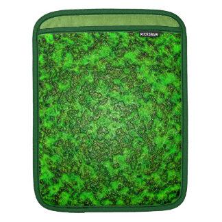 Green Slime iPad Sleeves