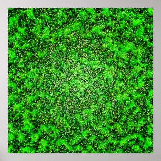 Green Slime Poster