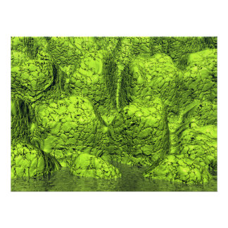 Green Slime Posters