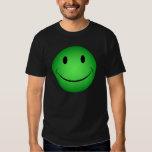 Green Smiley T-Shirt
