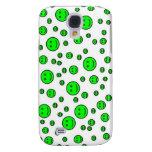 Green Smileys Galaxy S4 Case