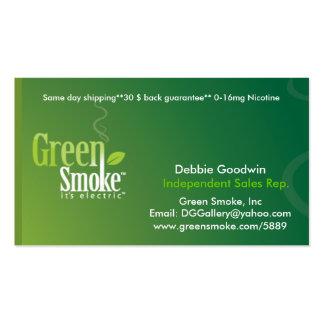 Green Smoke Business Card