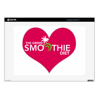 """Green Smoothie Diet Plan Decal For 15"""" Laptop"""