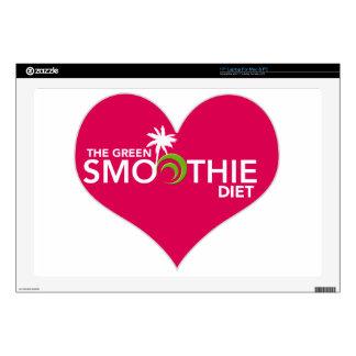 Green Smoothie Diet Plan Decals For Laptops