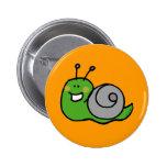 Green snail buttons