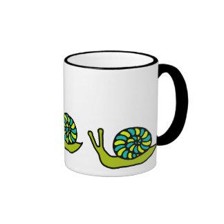 Green Snail Mug
