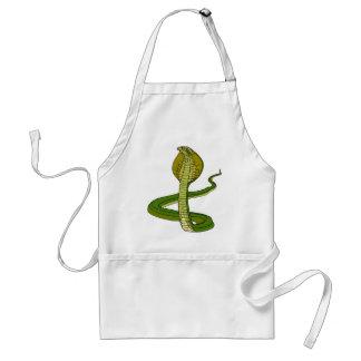 green snake adult apron