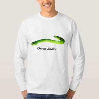 Green Snake Basic Long Sleeve T-Shirt