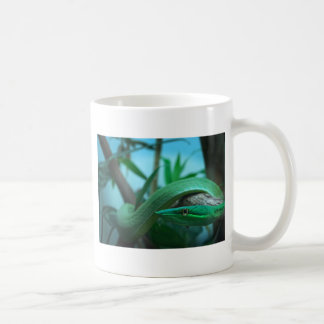 Green Snake Eye Coffee Mug