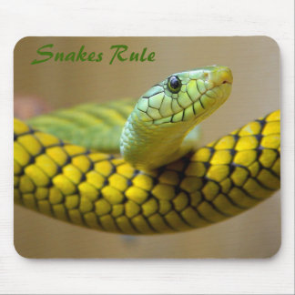 Green Snake Mousepad