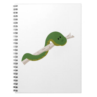 Green Snake Note Book