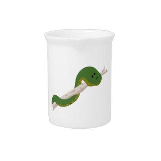 Green Snake Pitcher