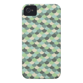 Green Snake Scales Vector Art iPhone 4 Cover