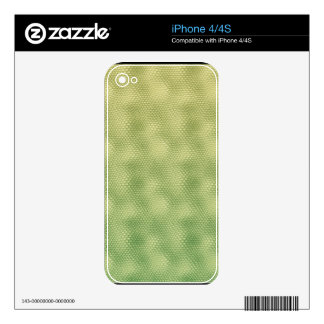 Green Snake Skin iPhone 4 & 4S Skin Decal For The iPhone 4S