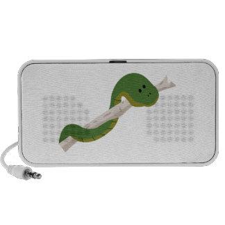Green Snake iPod Speaker