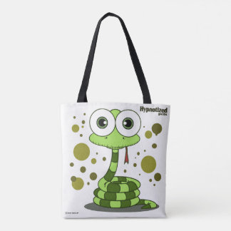 Green Snake Tote Bag