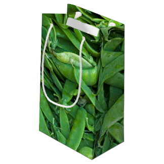 Green Snap Peas Small Gift Bag
