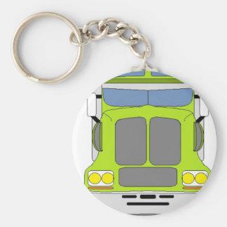 green snot truck keychain