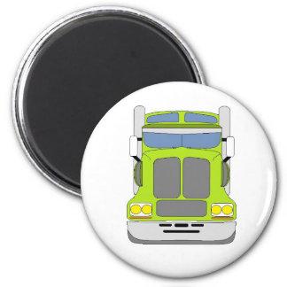 green snot truck magnet