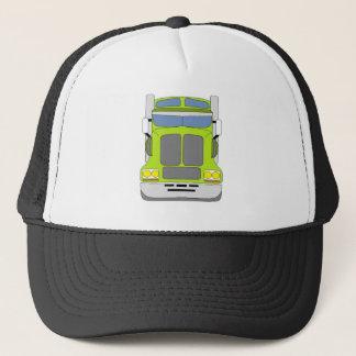 green snot truck trucker hat