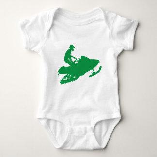 Green-Snowmobiler Tee Shirts