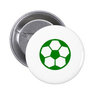 "Green ""SOCCER BALL"" image Button"