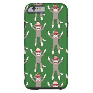 Green Sock Monkey iPhone 6 Case