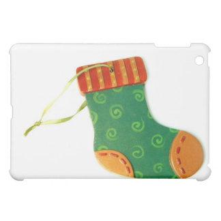 Green Sock Ornament iPad Mini Case