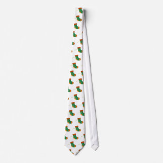 Green Sock Ornament Tie