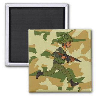 GREEN SOLDIER PAKISTAN MAGNET