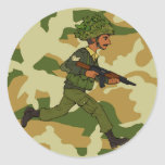 GREEN SOLDIER PAKISTAN STICKERS