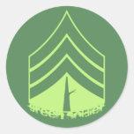 Green Soldier Sticker