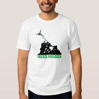 Green Soldier Windmill T-Shirt