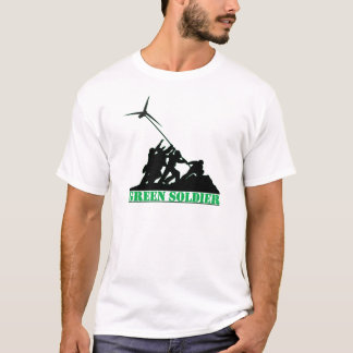 Green Soldier Windmill T-Shirt