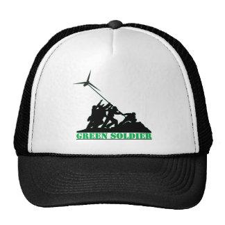 Green Soldier Windmill Trucker Hat
