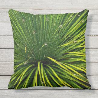 GREEN SOTOL PLANT /OUTDOOR PILLOW