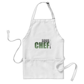 Green Sous Chef Adult Apron
