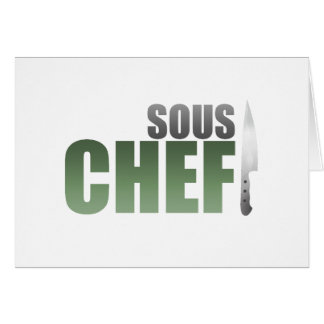 Green Sous Chef Card