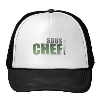 Green Sous Chef Hat