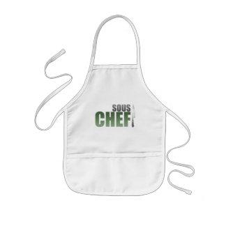 Green Sous Chef Kids' Apron