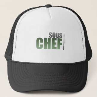 Green Sous Chef Trucker Hat
