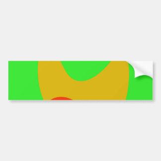 Green Space Bumper Sticker