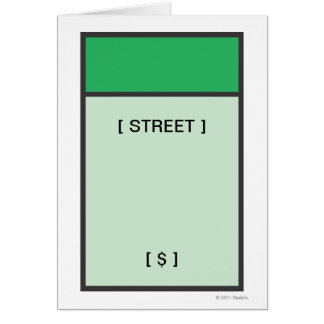Green Space Card
