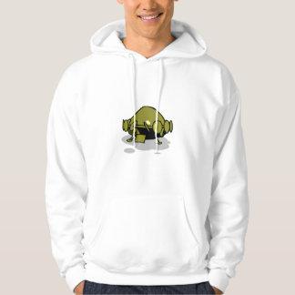 green spaceship hoodie